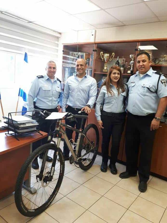 אופנים גנובות - צילום משטרת ישראל