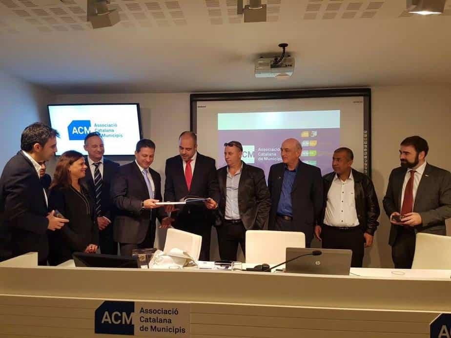 ראש מועצת גני תקווה ייצגה את ישראל בתערוכת smart city בברצלונה