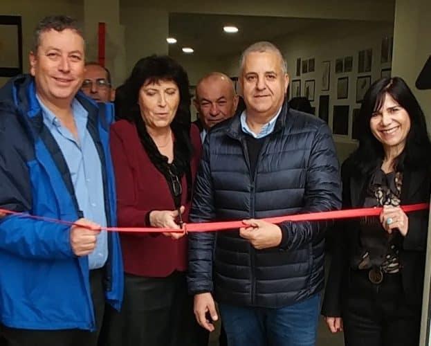 חנוכת מרכז אמנויות בתיכון בן צבי