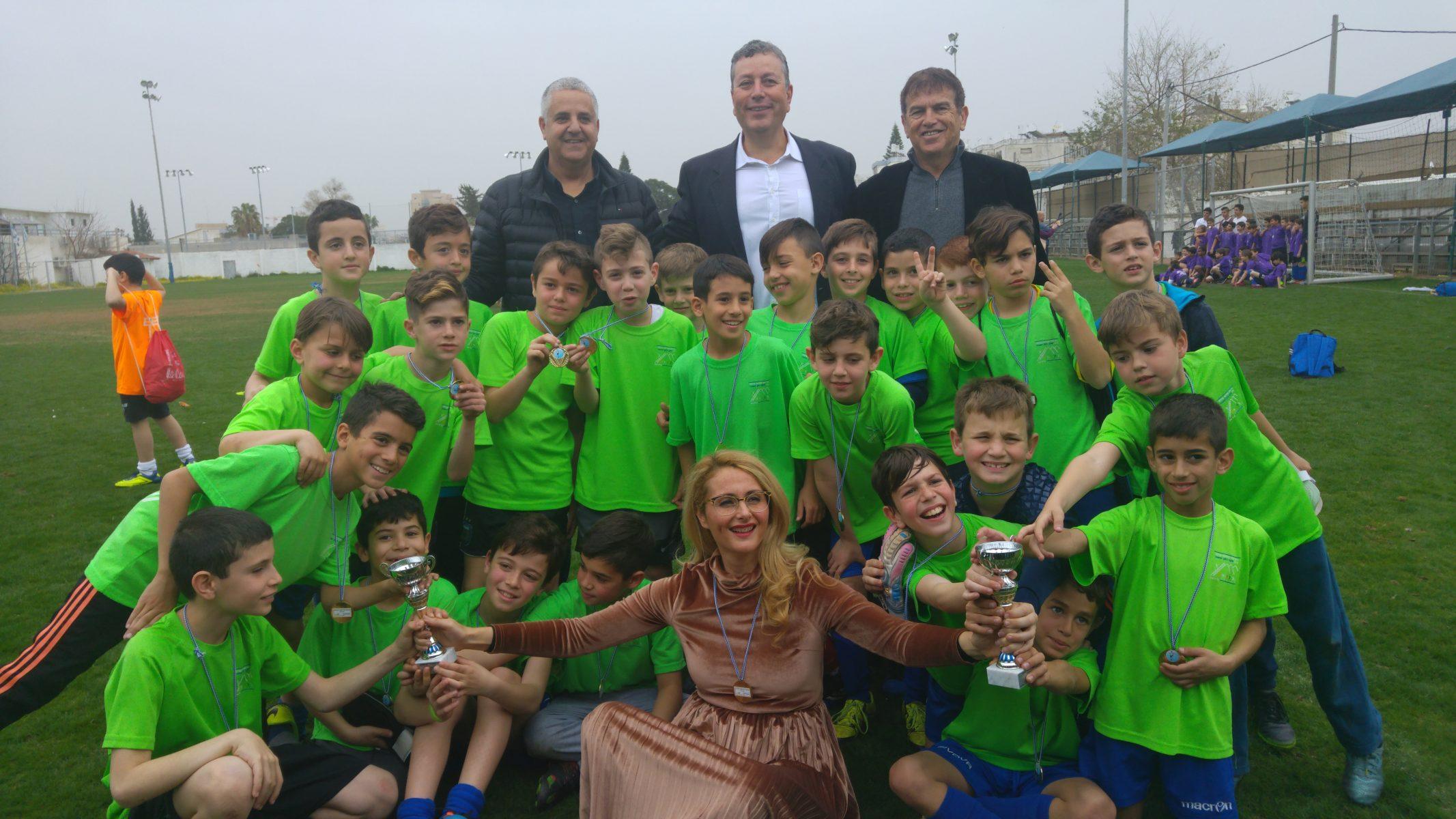 טורניר כדורגל בתי ספר יסודיים