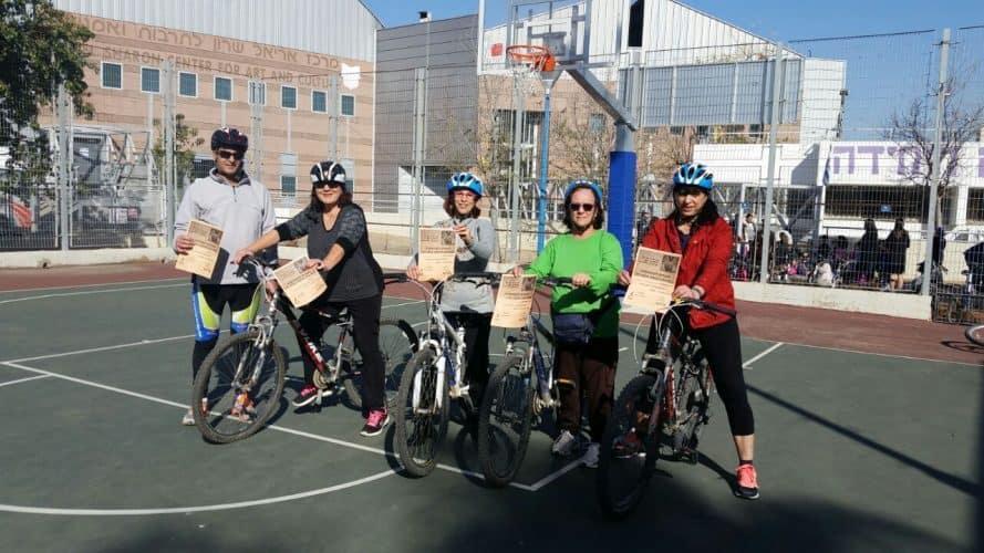 סדנת הרכיבה באופניים לאזרחים ותיקים מגבעת שמוא