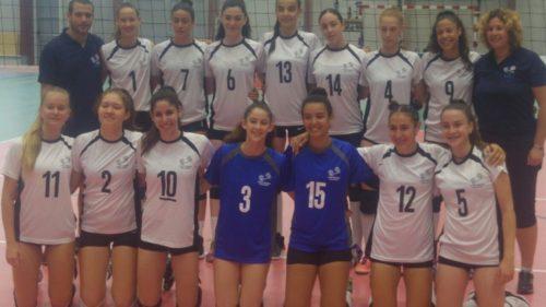 שיראל ז'נח ויסמין אסטנג'לוב זומנו לנבחרת ישראל לנערות בכדורעף