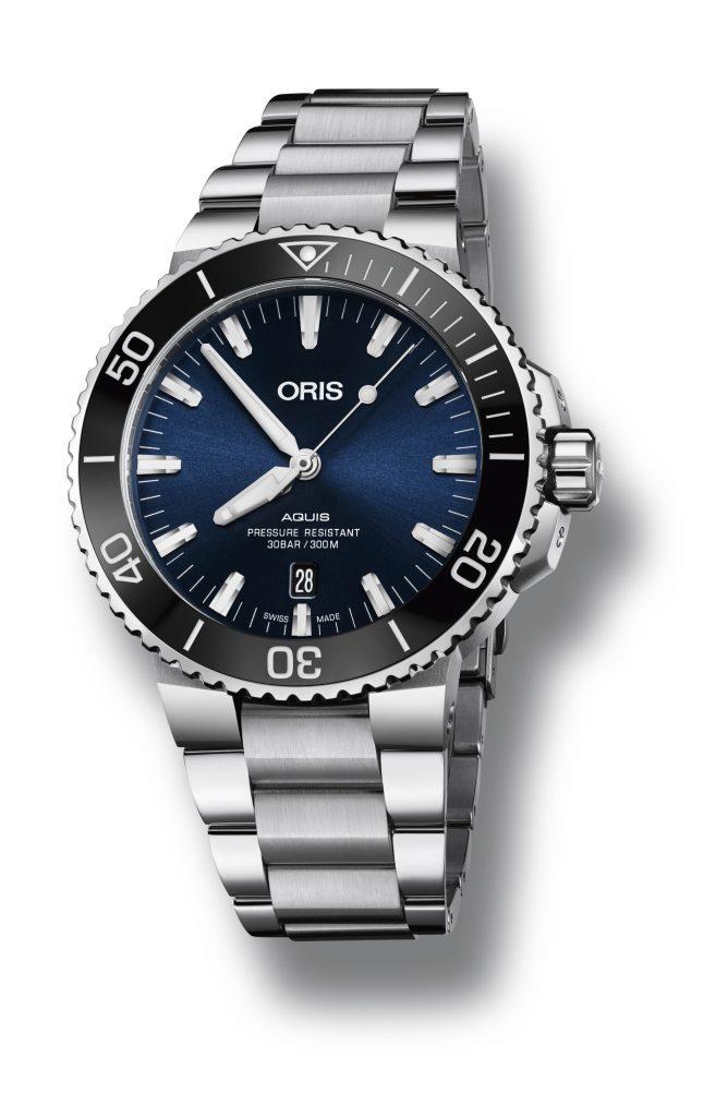 מותג השעונים השוויצרי ORIS (אוריס), המתמחה בין היתר בייצור שעוני צלילה, גאה להציג את שעון הצלילה המחודש מסדרתAquis .