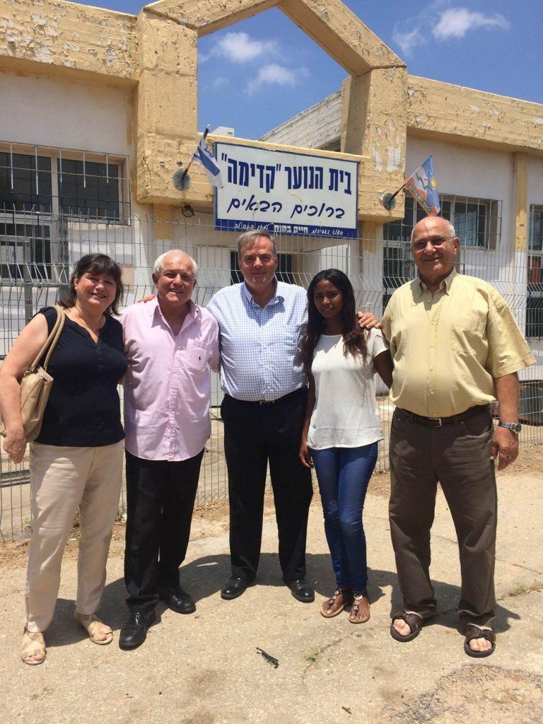 שר הרווחה והשירותים החברתיים חיים כץ הגיע לביקור באור יהודה