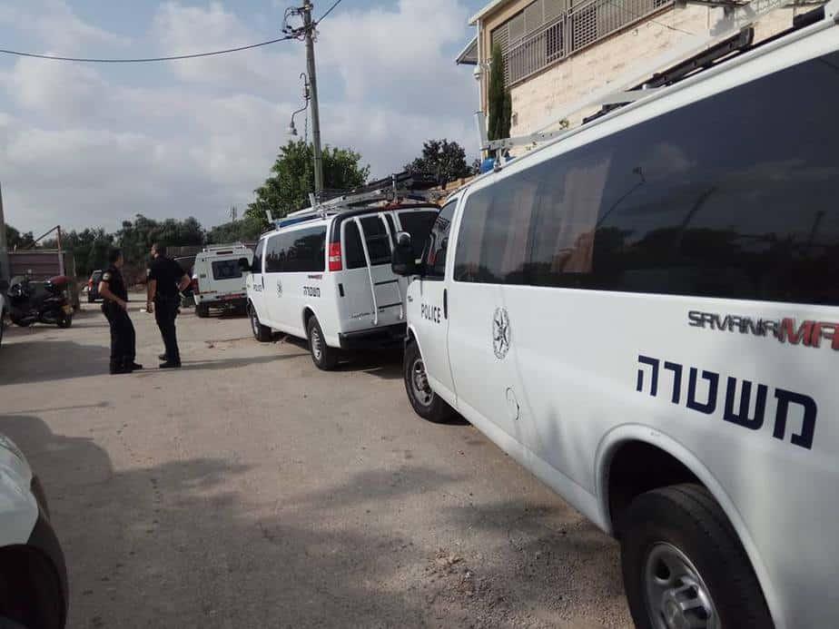 מבצע משטרתי באור יהודה