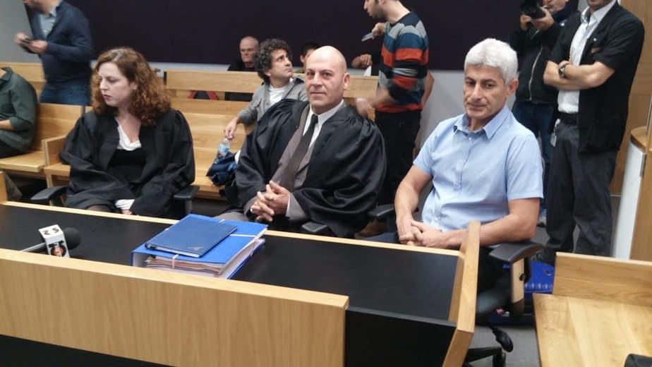 דוד יוסף ראש העיר אור יהודה בבית המשפט