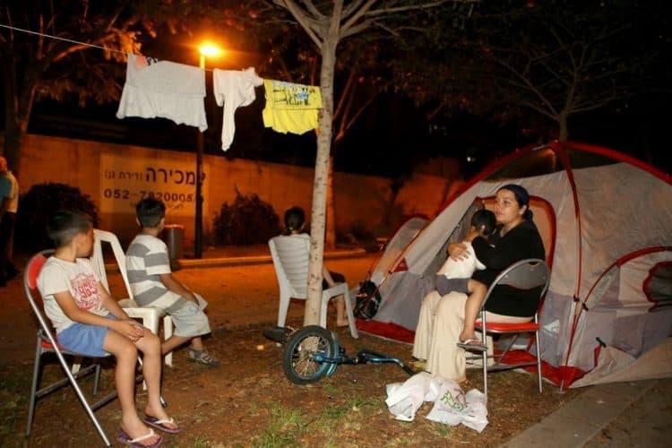 אוהל בקריית אונו