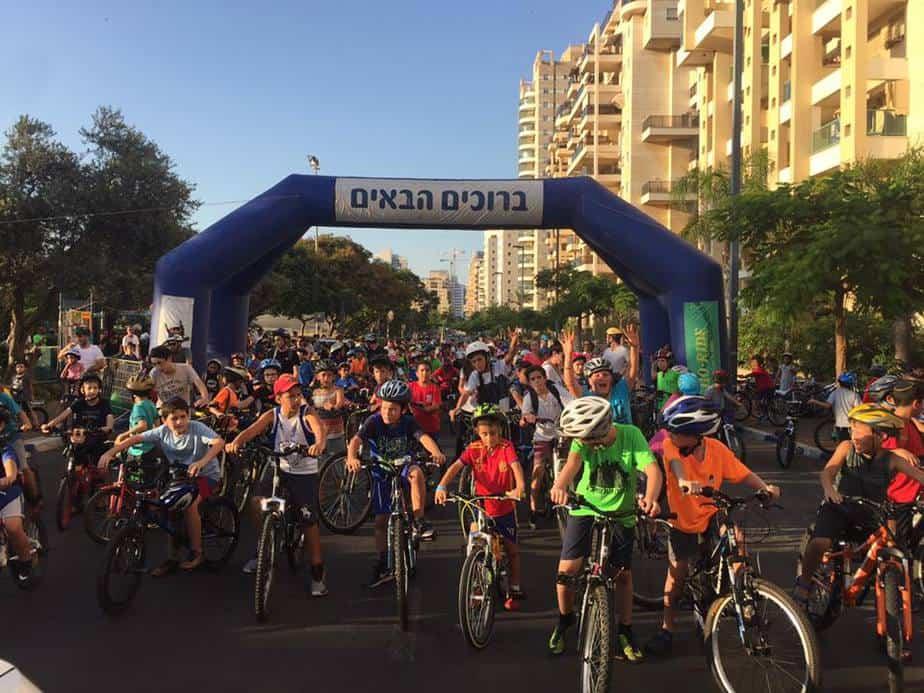 מירוץ אופניים בגבעת שמואל