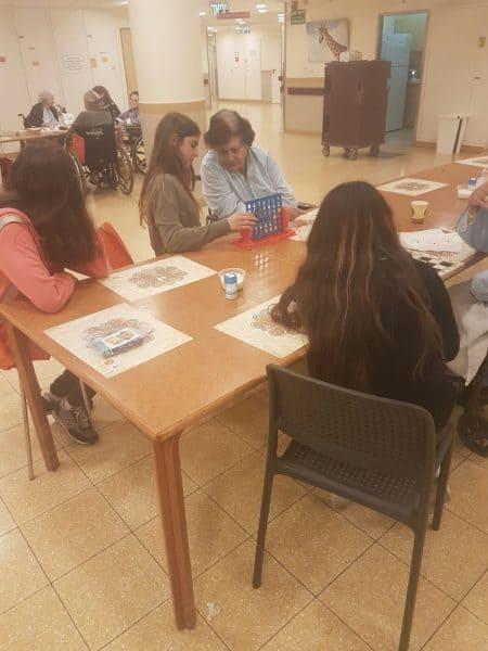 מועצת נוער עירונית במרכז שיקום תהש