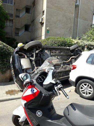 תאונת דרכים בקריית אונו