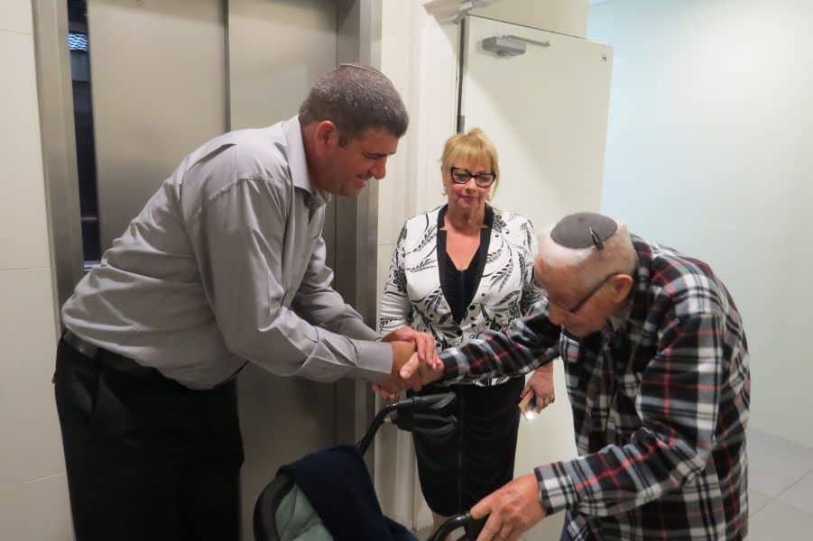 משה פטרובר מגבעת שמואל חוגג 100