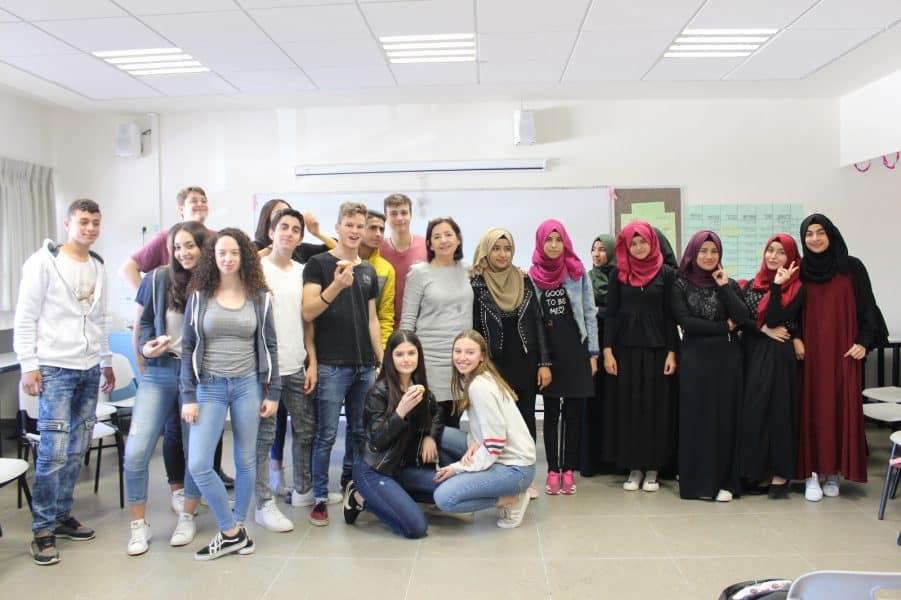 תלמידי תיכון בן צבי מקריית אונו ותלמידי תיכון כסייפה