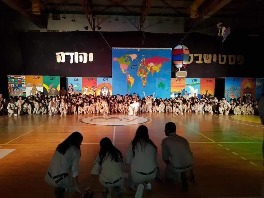"""אור יהודה מאות חגגו את ה""""פסטישבט"""" של צופי יהודה"""