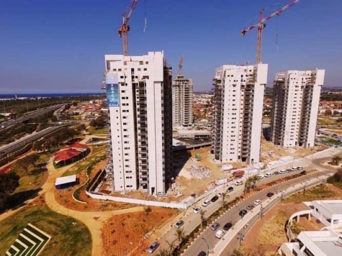 קיסריה אאורה התחדשות עירונית