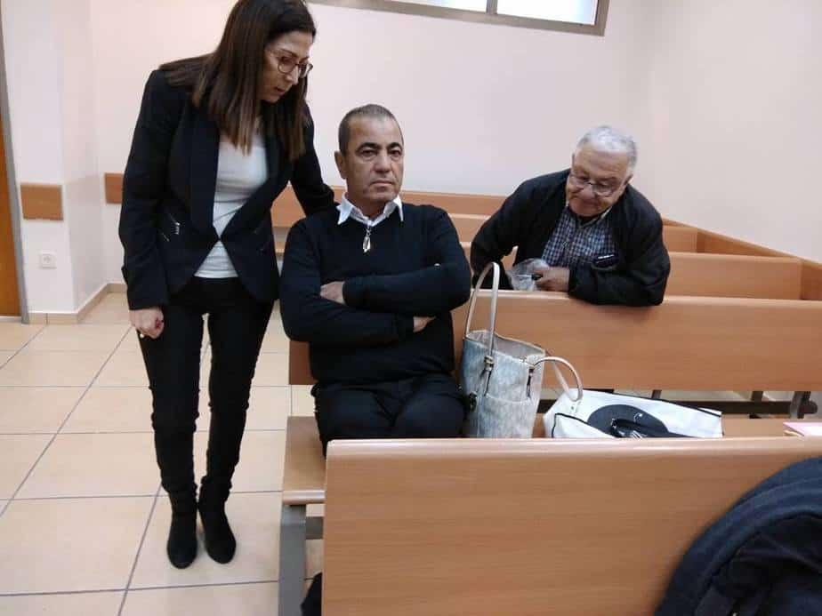 יוסי בן דוד בבית המשפט