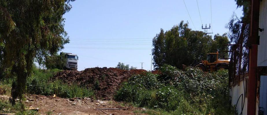 אתר בנייה ביהוד