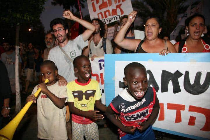 פליטים בדרום תל אביב