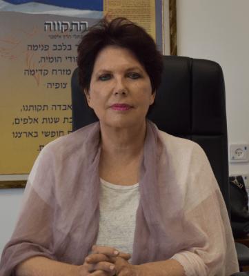 עמליה חיימוביץ מנהלת מחוז מרכז