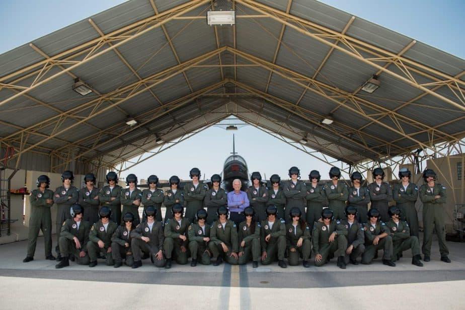טקס סיום קורס טייס. בתמונה באדיבות דובר צה''ל