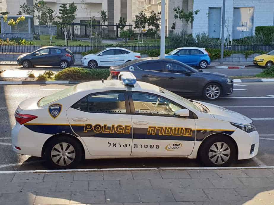 המשטרה טוענת כי החשוד הודה, צילום: באדיבות דוברות המשטרה