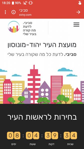 ניהול מידע של מועצת העיר