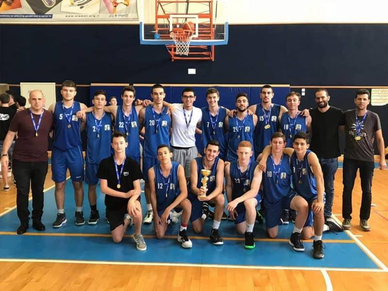 נבחרת הכדורסל של תיכון בן צבי