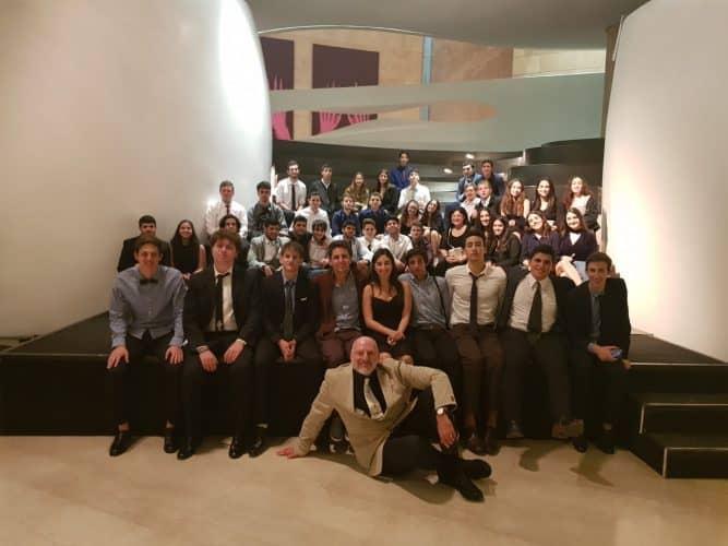 תלמידי מקיף יהוד באופרה