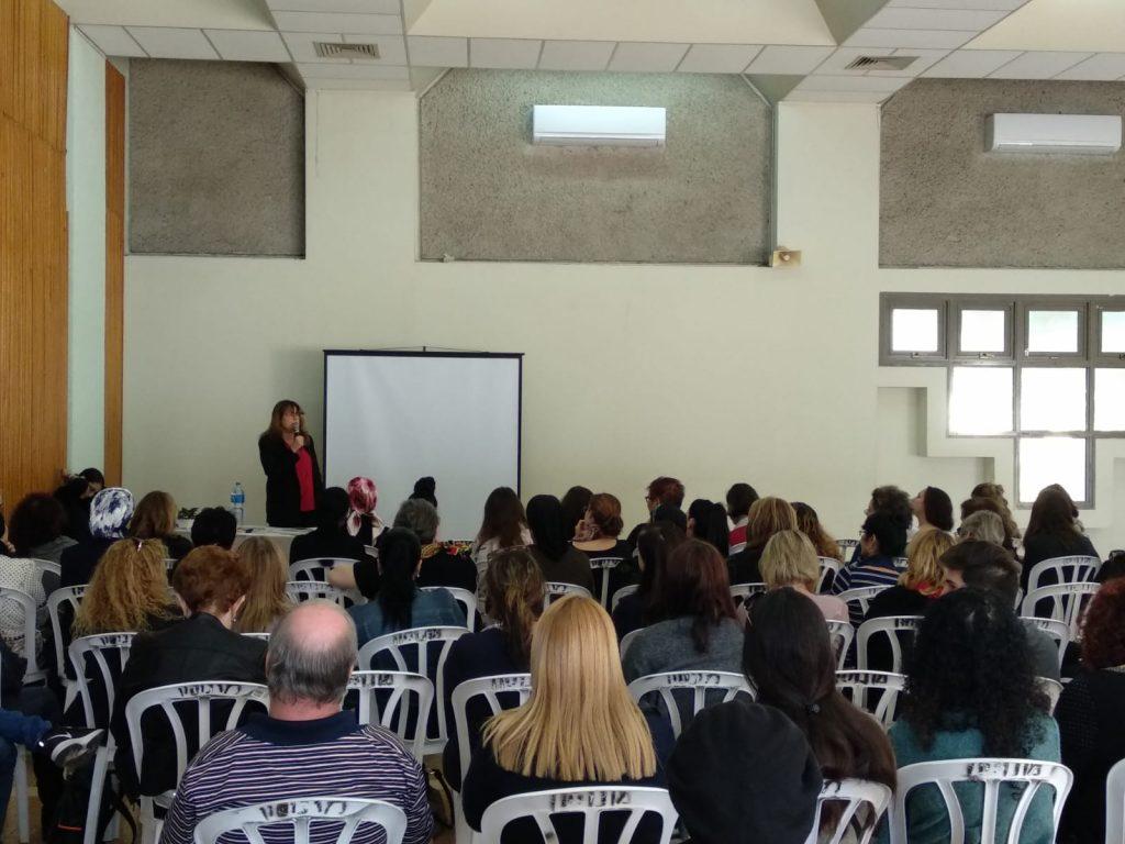 חודש המאבק באלימות נגד נשים צוין ביהוד-מונוסון