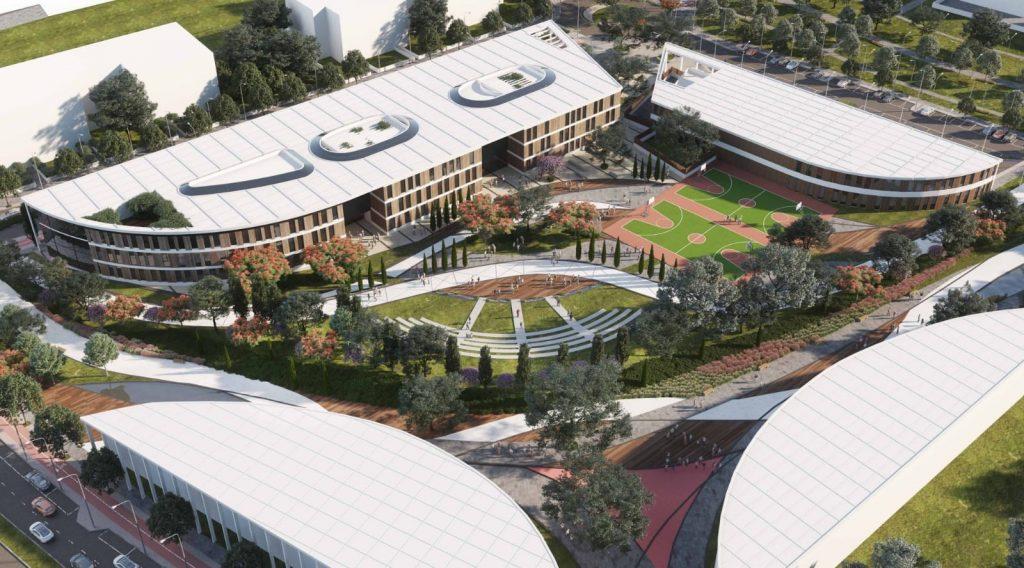 הדמיית בתי הספר בשכונה החדשה