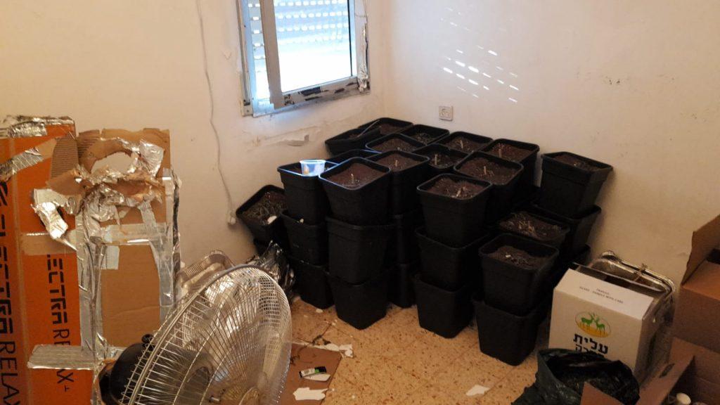 סמים בדירה בקריית אונו