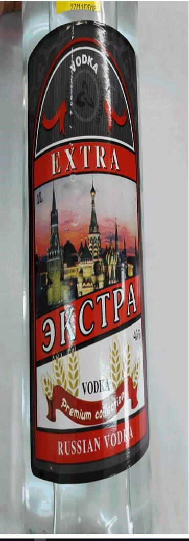 EXTRA RUSSIAN VODKA