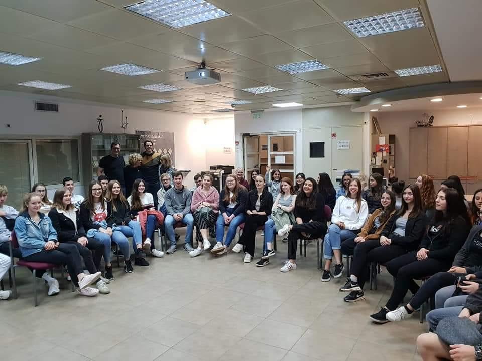 תלמידי גרמניה במקיף יהוד