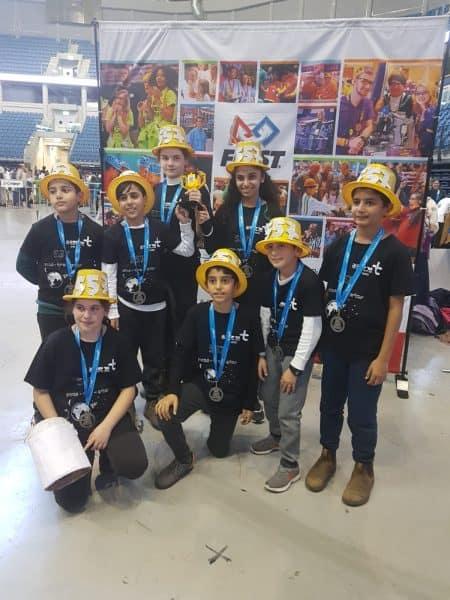נבחרת הרובוטיקה מאור יהודה