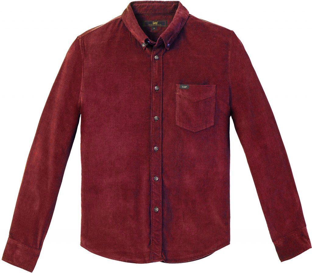חולצת קורדרוי של המותג Lee 379 שקל צילום עופר בארי