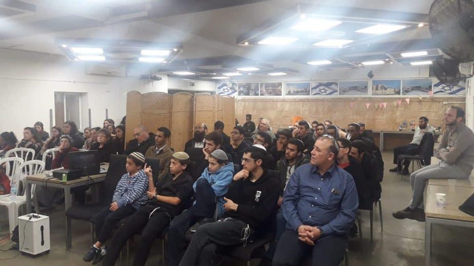 הרצאה בחב''ד
