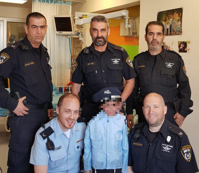 שוטרי מרחב דן מגשימים חלום