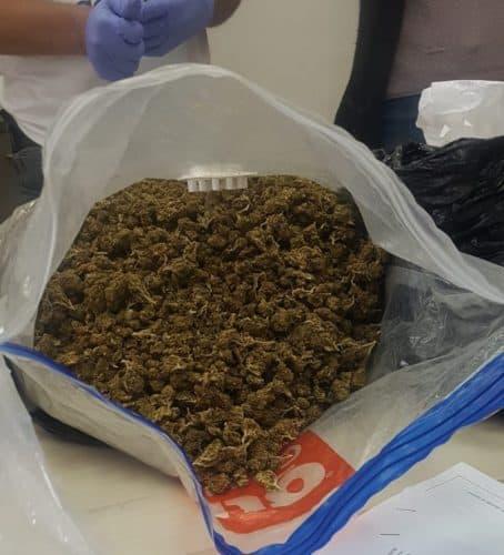 סמים שנתפסו ברמת פנקס