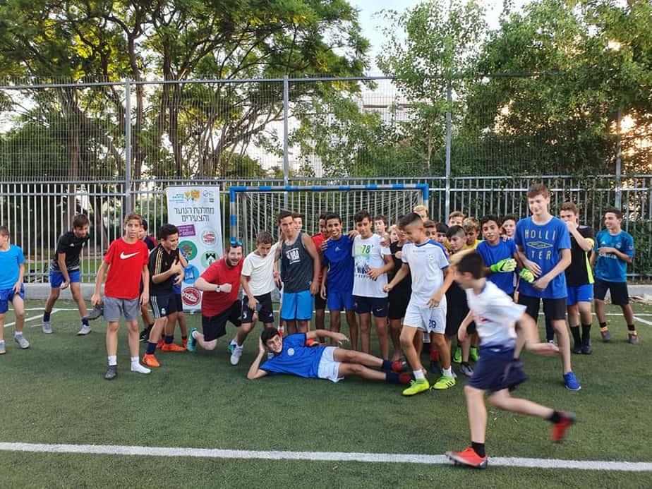 טורניר כדורגל נוער בקריית אונו