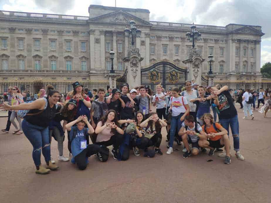בני נוער מאור יהודה, קריית אונו וגבעת שמואל השתתפו במשלחת משותפת בלונדון