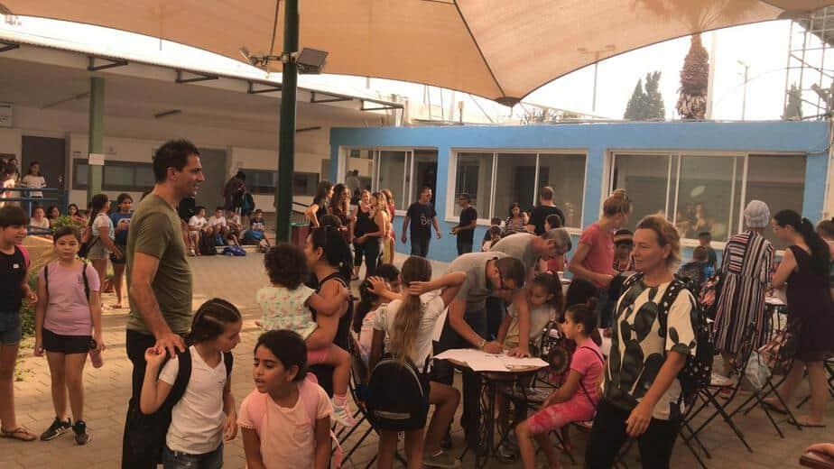 שביתה בבית ספר הרצל ביהוד