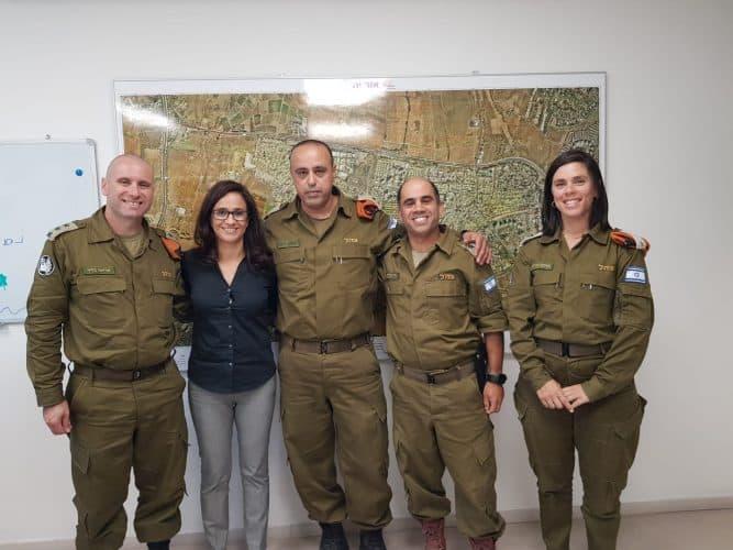 ביקור מפקד פיקוד העורף באור יהודה