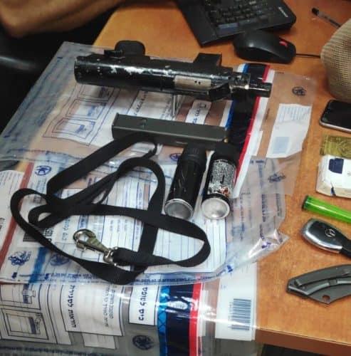 המשטרה אתרה בטלפון תמונה של הנשק