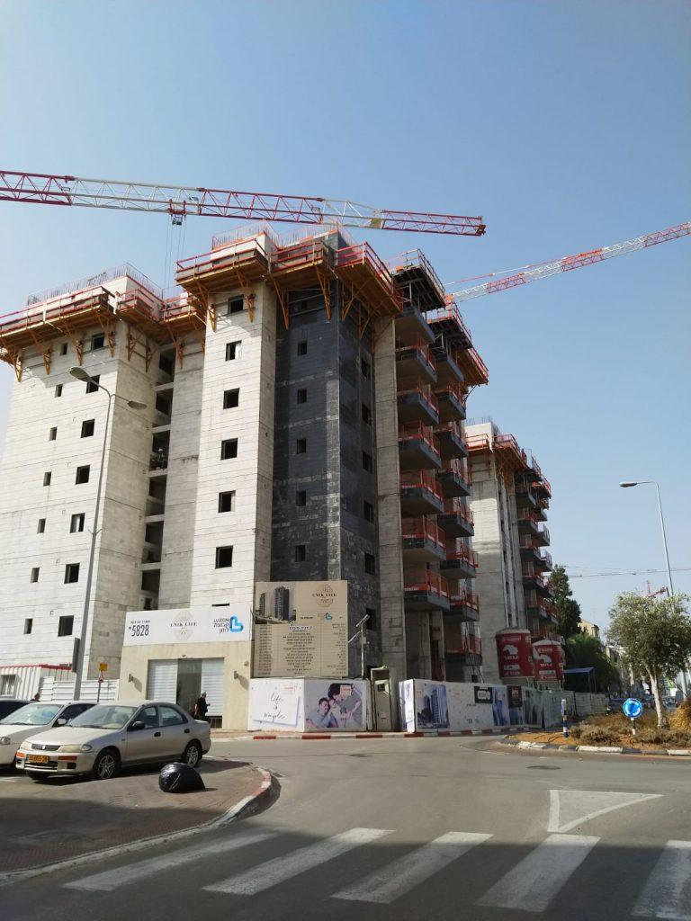 בנייה ביהוד צילום יפעת זמיר