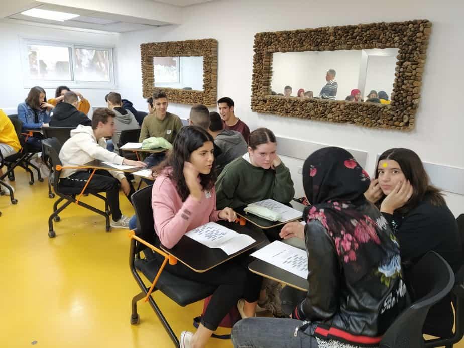 תלמידי תיכון בן צבי ומקיף כפר קאסם