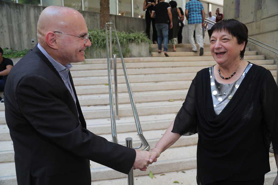 ביקור הנשיאה במכללת אור יהודה