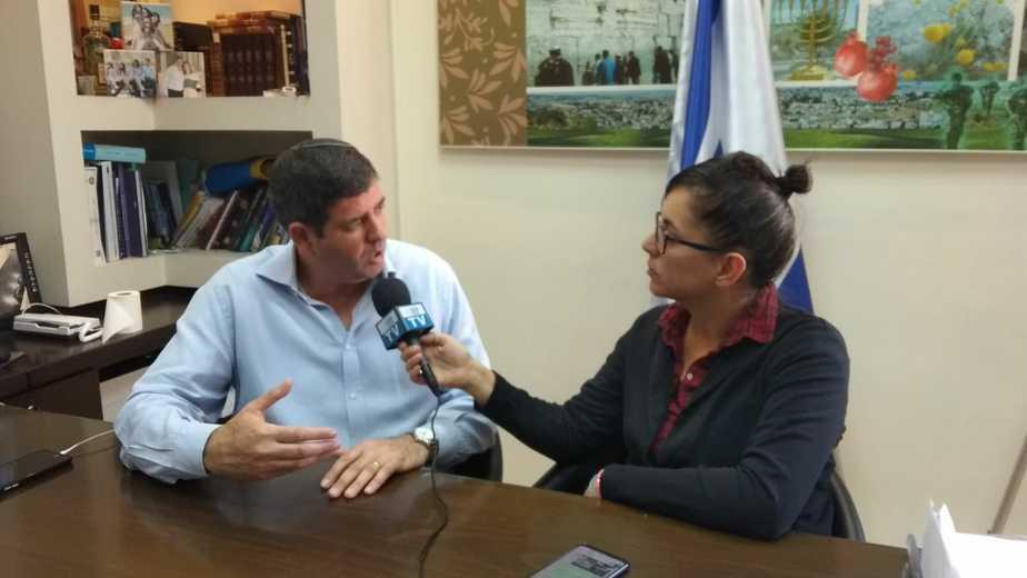 ראש עיריית גבעת שמואל יוסי ברודני בראיון לאונו ניוז