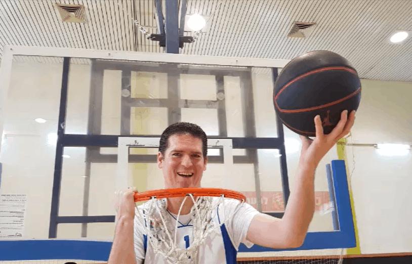 דני וידיסלבסקי בכדורסל