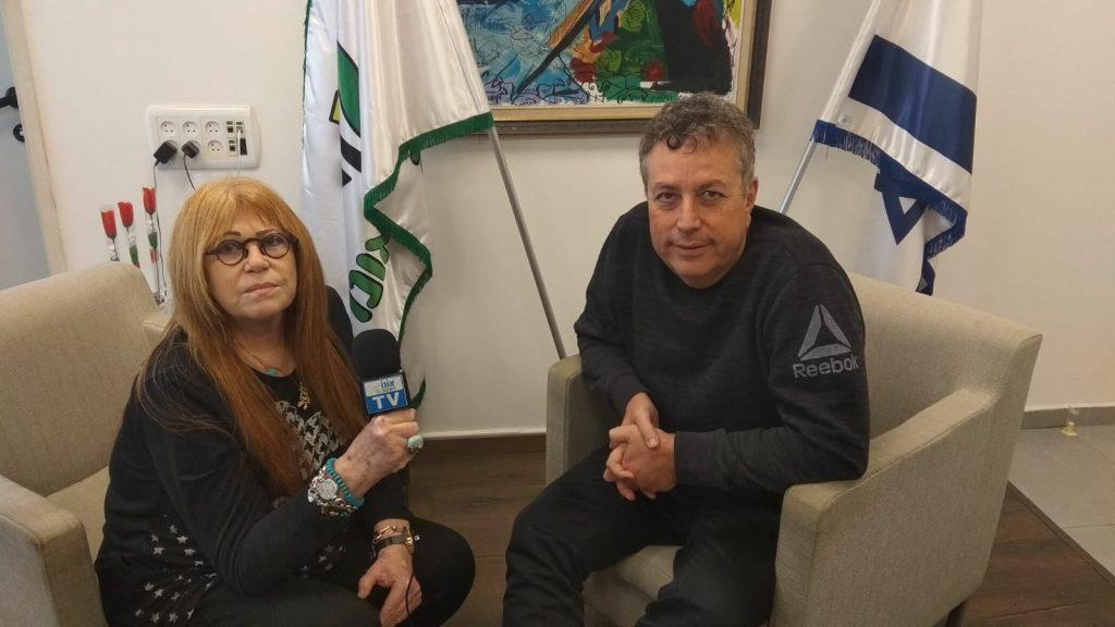 חוה ברק עם ישראל גל