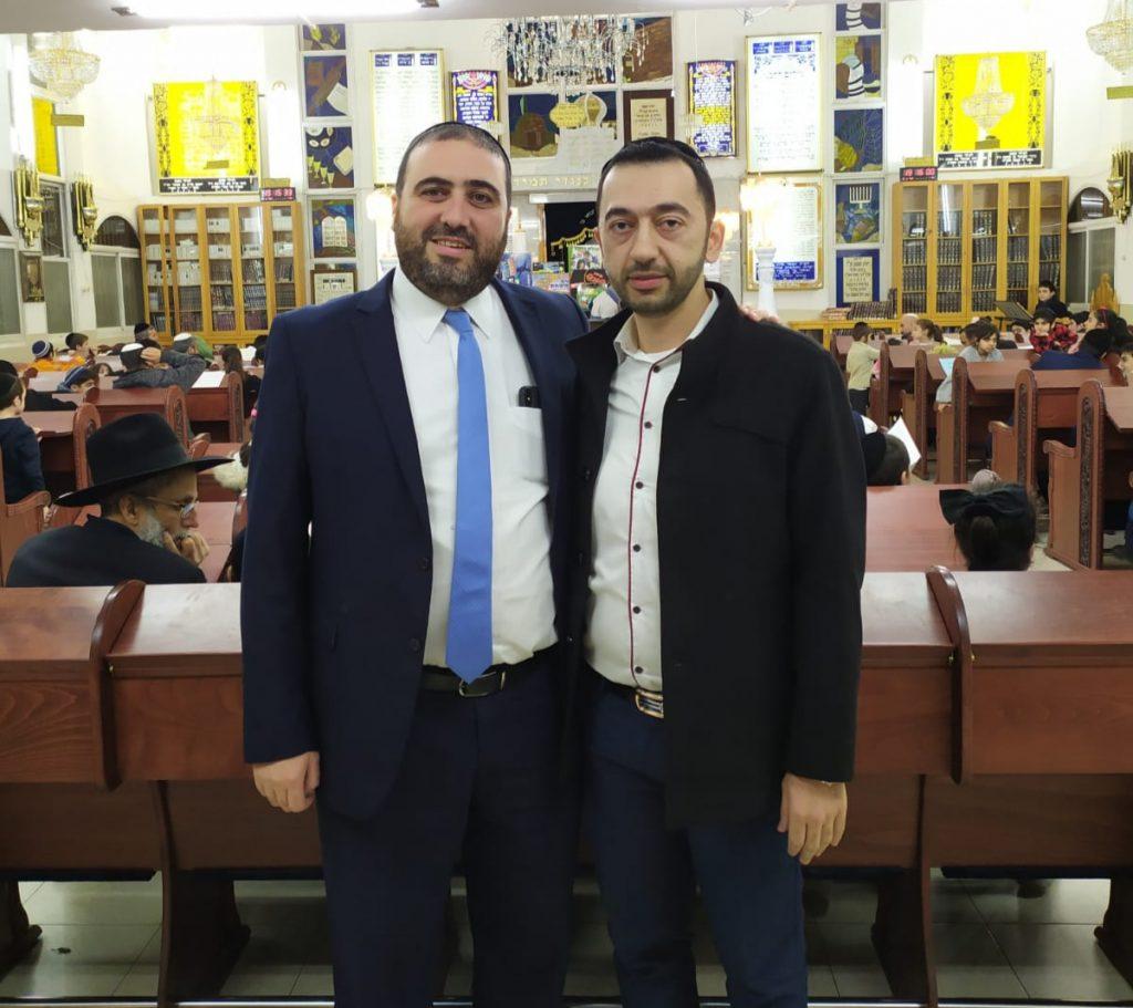 סיונוב עם חבר הכנסת משה ארבל