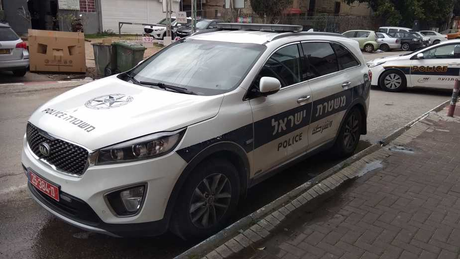 ניידת משטרה. צילום: משטרת ישראל